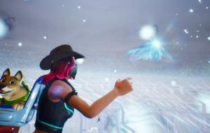 Fortnite's mysterious cube and a new brand location