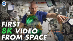 NASA's 1st 8K Video from Space Is Just Awesome